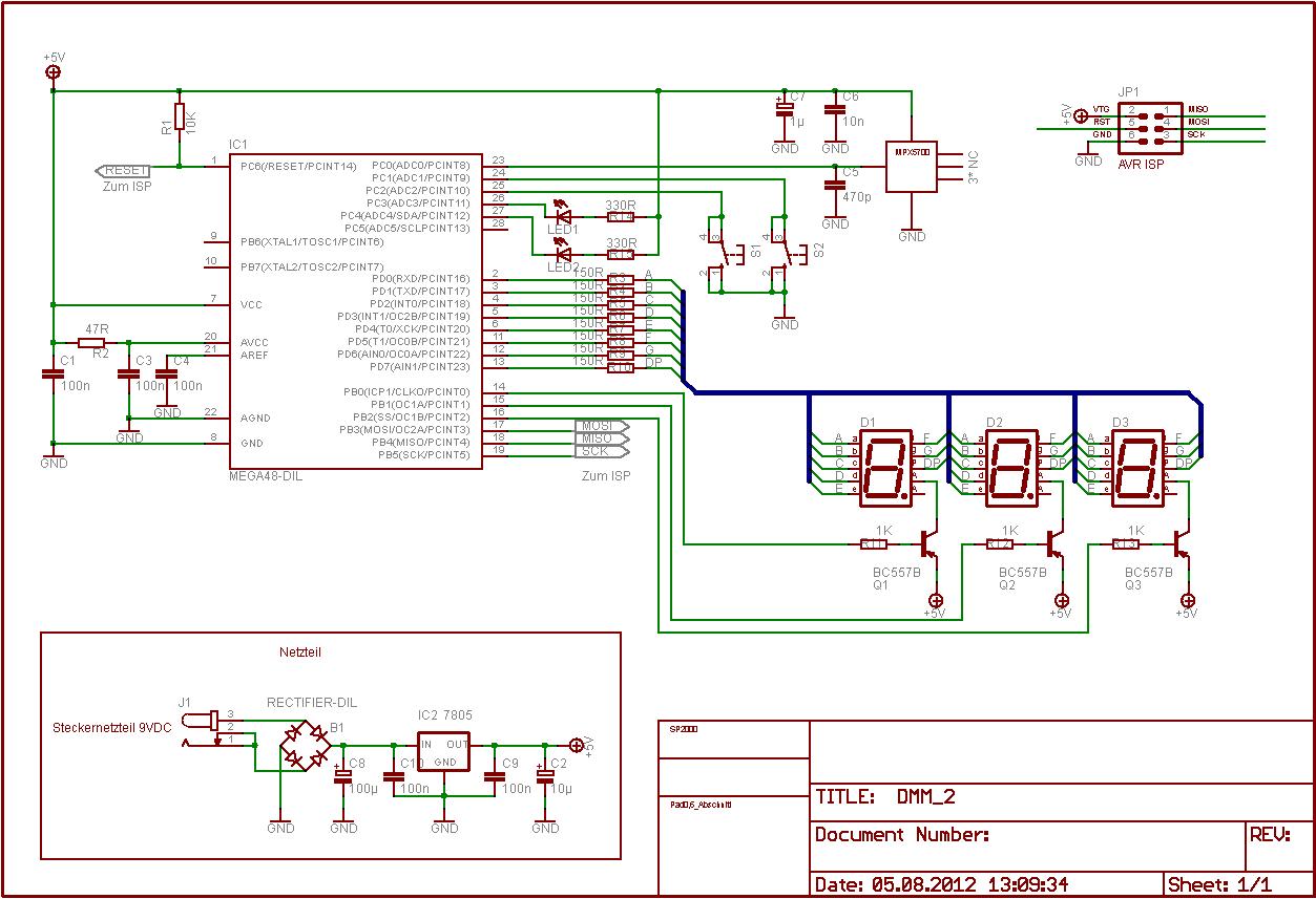Ausgezeichnet Einfache Digitale Schaltkreise Projekte Fotos - Der ...
