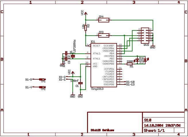 avr projekte ftm910 isp programmer. Black Bedroom Furniture Sets. Home Design Ideas