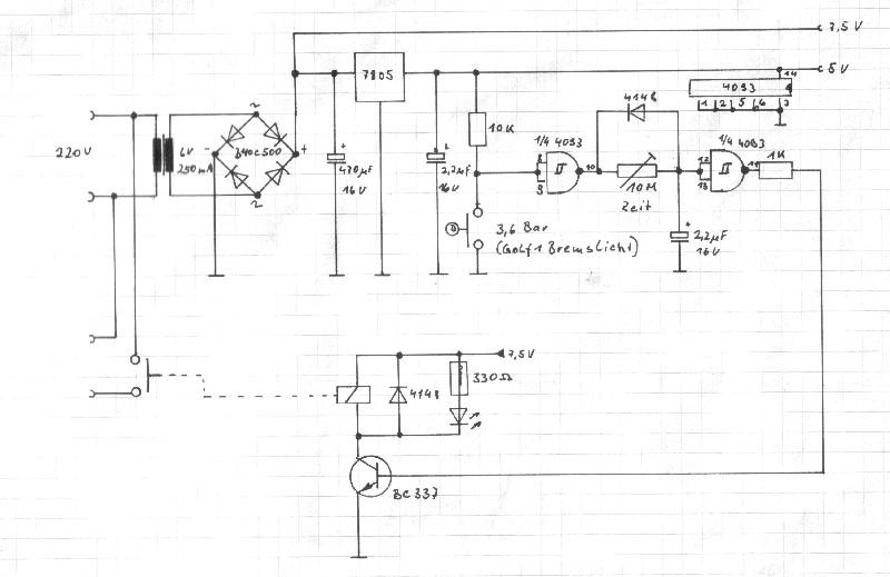 Berühmt Druckluftkompressor Condor Druckschalter Schaltplan Ideen ...