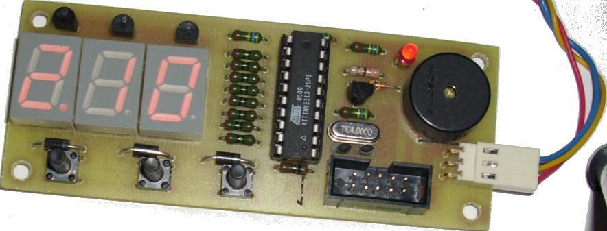 Микроконтроллерный таймер для споттера своими руками 24