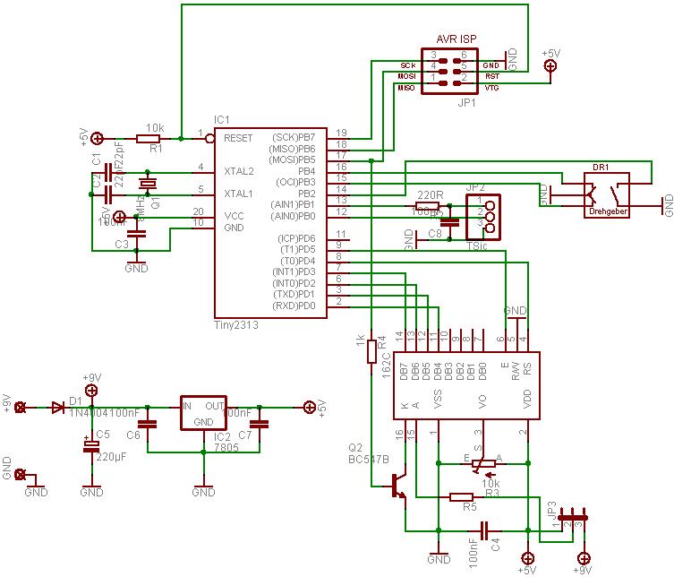 AVR-Projekte / TinyClock